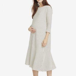 Hatch Dash Knit A Line Maternity Dress Size 1